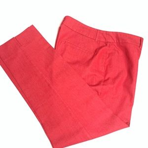 Chico Red Dress Pants Size 2